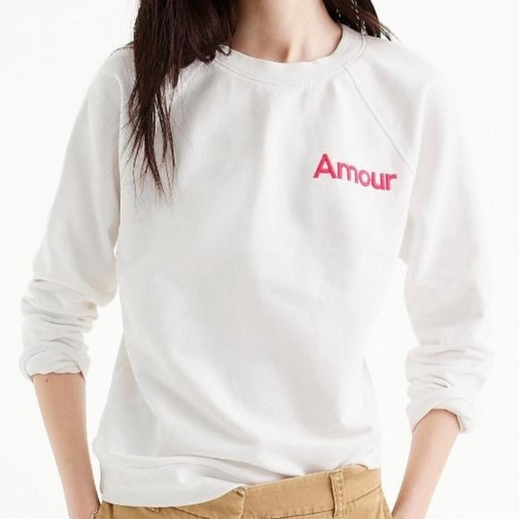 J. Crew Sweaters - J.Crew Amour Sweatshirt